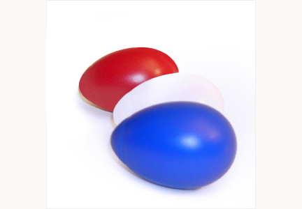 Patriotic Egg Cha Cha Shakers